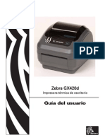 Manual GX420dUGes