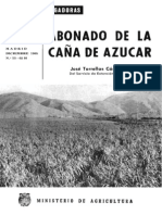 Abono de la caña de azucar - Jose Torrellas