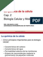 BIOL 4087 Quimica de La Celula