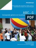 ABC...G INCLUYENDO GÉNERO