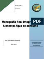 Presentacion Monografia Agua