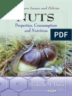 Nuts - Properties, Consumption and Nutrition - I. Davis (Nova, 2011) BBS