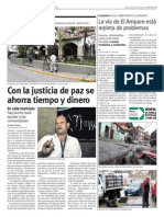 Gente en Positivo 11 Septiembre Justicia de Paz Baruta