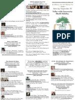Valley-wide Ana Cara Community Health Day 2013 Brochure