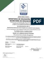 Certificacion Icontec Calidad