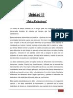 Unidad III Datos Estandares Resumen