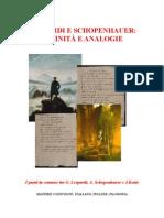 Leopardi, Schopenhauer, Keats