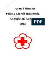Laporan Tahunan PMI Kabupaten Kapuas 2012