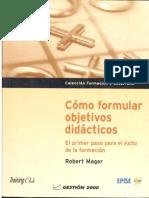 cómo formular objetivos didácticos final