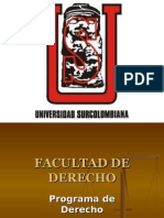 Ejercicio de Power Point sobre mi programa(Derecho)