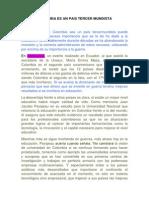 COLOMBIA ES UN PAIS TERCER MUNDISTA.docx