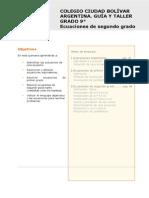 ecuaciones cuadraticas CCBA