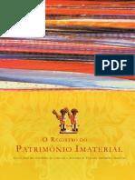 o Registro Do Patrimonio Cultural Imaterial