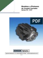 Parker - Bombas a Pistones Caudal Variable Serie PVP