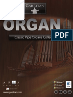 Garritan Classic Pipe Organs Manual