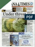 Tirana Times,  LPA Law Firm Albania 2013