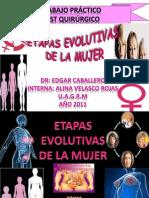EXPOSICIÓN ETAPAS EVOLUTIVAS DE LA MUJER