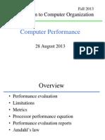 CDA3101 L04 Performance MSS
