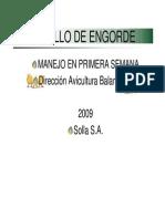 Man Ejo Pollo Eng or de Primera Semana