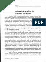 Carlos Alonso Escritura Fetichizadora
