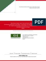 4.3.3. María Dolores Cáceres, et.al., 2009, COMUNICACIÓN INTERPERSONAL Y VIDA COTIDIANA. LA PRESENTACION DE LA IDENTIDAD DE LOS JOVENES EN INTERNET