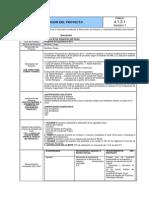 ACTA DE CONSTITUCION DEL PROYECTO-Pyto Capacitación-2011