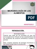 MICROBIOLOGIA DE LOS ALIMENTOS 2011 a.ppt