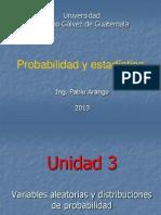 Unidad 3 Probabilidad 1-2013