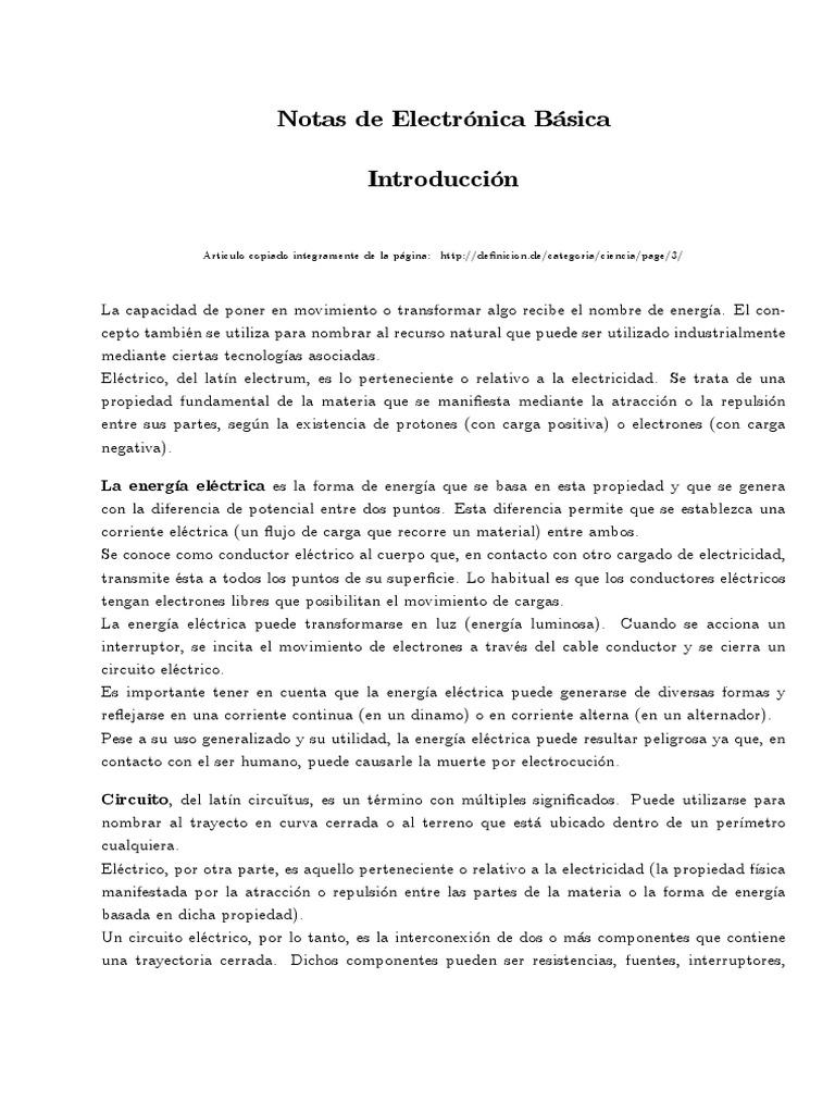 Circuito Y Sus Partes : Secuencia didáctica con virtual lab by noelia soledad gomez issuu