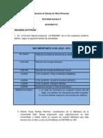 Servicio Al Cliente Un Reto Personal Actividad Semana 4 (4.2)
