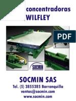 Mesas Concentradoras Wilfley