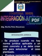 integracion juridica