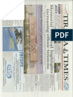 Gazeta Newspaper Tirana Times LPA Law Firm Albania LPA ltd Studio Legale Albania