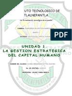 Unidad 1. Gestion Del Capital Humano