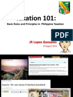 Taxation 101 basic rules and principles
