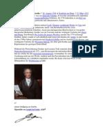 Johann Wolfgang Von Goethe 1