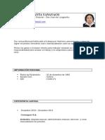 CV  lucy 2013