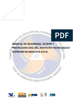 Manual de Seguridad, Higiene y Proteccion Civil ITSMASCOTA (Reparado)