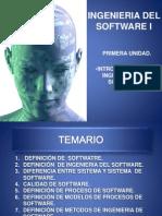 Ingenieria Del Sotfware i
