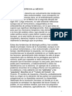 Izquierda y Derecha en el México del Siglo XXI