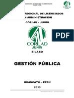 SILABO - GESTIÓN DE CONTRATACIONES ESTATALES