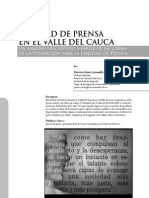 Alzate, Libertad de Prensa, 2010