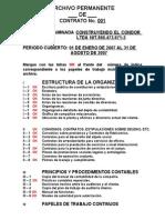Idice Archivos Revisoria Fiscal