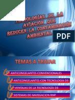 Tecnologías de la aviación que reducen la contaminación