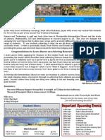 Newsletter 12.09.13
