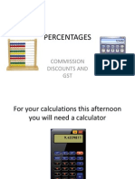 Basic Calculations for travel agents