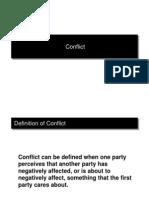 Conflict n Negotiation