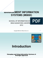 Information System Management