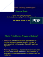 Finite Element Model and Analysis