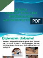 MEDIOS DIAGNÓSTICOS PARA ENFERMEDADES GASTROINTESTINALES